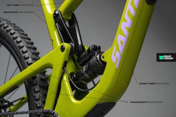 bikewrap mtb frame sticker decal